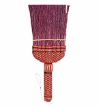 Dust Broom Red