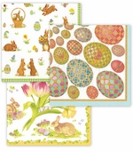 Easter Paper Plates and Napkins