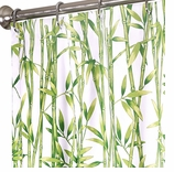 """Extra Long Shower Curtains Bamboo XXL 96"""""""