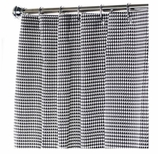 Extra Long Shower Curtains Black & White