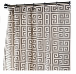 Extra Long Shower Curtains Geometric