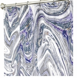 Extra Long Shower Curtains Marble