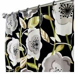 Extra Long Shower Curtains Poppy