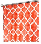 Extra Long Shower Curtains XXL Salmon