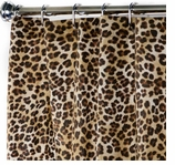 Fabric Shower Curtains Animal Print