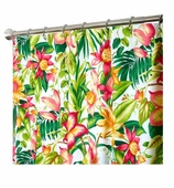 Fabric Shower Curtains Lily
