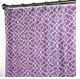 Fabric Shower Curtains Lovely Lattice