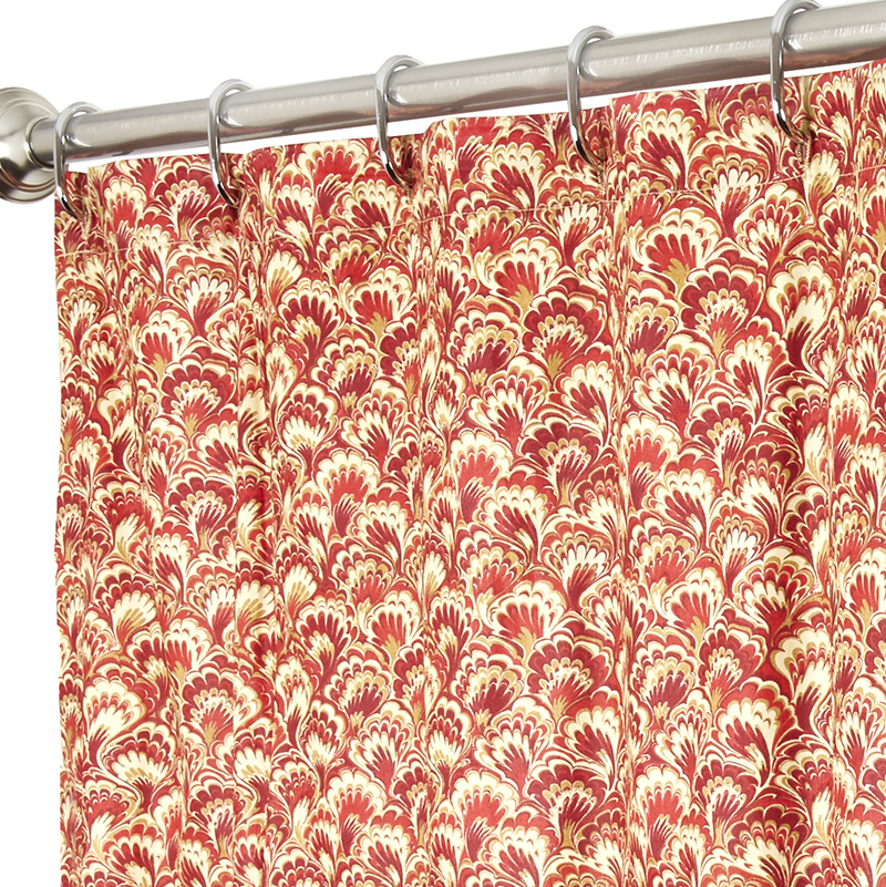 Fabric Shower Curtains in Our Fabric or Yours