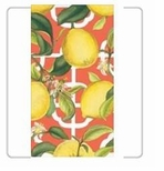 Garden Party Decorations Lemon Guest Towels