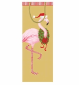 Gift Wrap Bags Bottle Flamingo