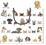 Gift Wrap Bags Large Cats & Dogs