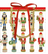 Gift Wrap Bags Small Nutcracker