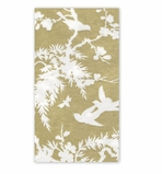 Hand Towels for Weddings Gold/White