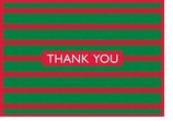 Holiday Cards Striped