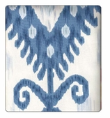 Ikat Blue Swatch