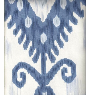 Ikat Blue & White