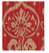 Ikat Red Swatch