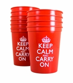 Keep Calm and Carry On Cups