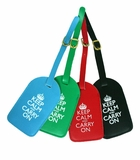 Keep Calm and Carry On Luggage Tags
