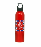 Keep Calm and Carry On Metal Water Bottles