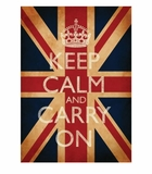Keep Calm and Carry On Union Jack