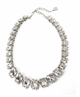 """Kenneth Jay Lane Necklace Crystal 16"""""""