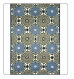 Kitchen Rug -Suzani Blue