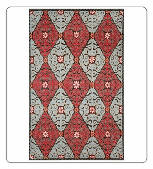 Kitchen Rugs Suzani
