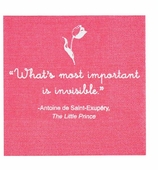 Little Prince Party Napkins Pink