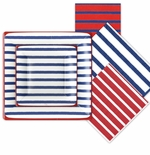 Nautical Paper Plates and Napkins
