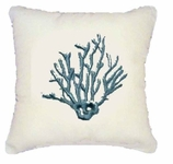 Nautical Pillows Blue Coral