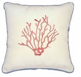 Nautical Pillows Coral