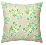 Nautical Pillows Cover Turtle