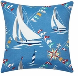 Nautical Pillows Sailboats