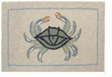 Nautical Rugs 2x3 Crab