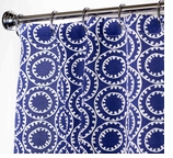 """Nautical Shower Curtains Bell 96"""""""