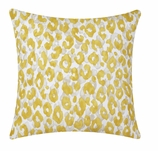 Outdoor Pillow Covers Yellow Animal