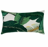 Outdoor Pillows Palm Leaves
