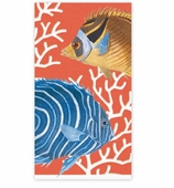 Paper Hand Towels Coral Reef Pk 15