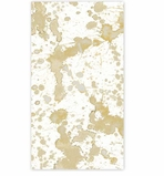 Paper Hand Towels Gold Splatter