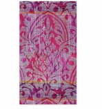 Paper Hand Towels Purple Damask