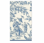 Paper Hand Towels Silk Road Blue