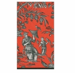 Paper Hand Towels Silk Road Coral