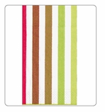 Paper Hand Towels Stripe 15 Pc