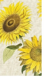 Paper Hand Towels Sunflower
