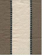 Paper Hand Towels Taupe Stripe by Pierre Frey