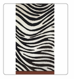 Black and White Party Decorations Paper Hand Towels Zebra