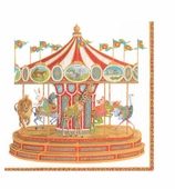 Paper Napkins Lunch Carousel
