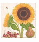Paper Napkins Lunch Sunflowers