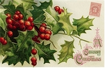 Paper Placemats Holly